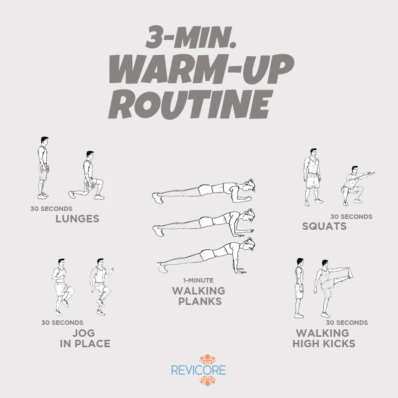 WARM UP ROUTINE - REVICORE